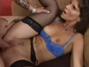 interracial cougar videos