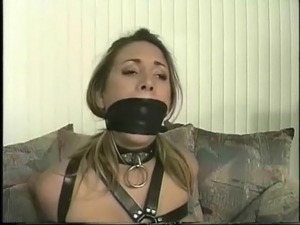 young girls wearing leather