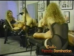 Slave licking mistress ass