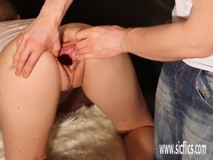 gaping pussy small cock