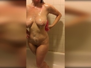 asian girl shower