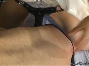 anal strapon esbians videos