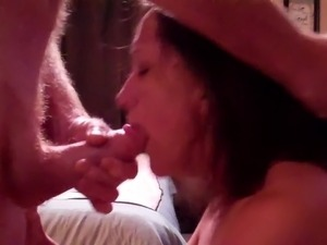 black dicks cumming in unsuspecting mouth
