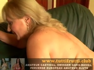 old mature double anal