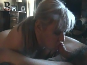 Chubby Mature Wife BJ