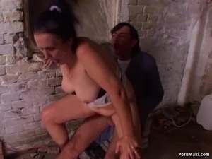 granny first time anal video