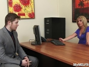 mature boss sex