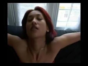 Sexy smoking girl