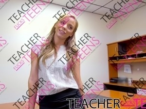 pupil teacher handjob sex