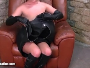 free porn leather video