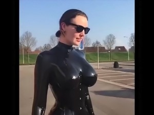 Latex group sex