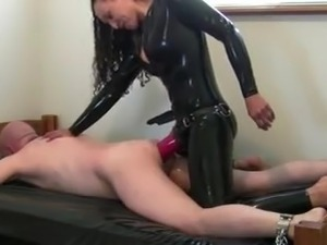 tight latex ass rubber bound pussy