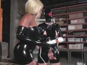 free latex fingering video