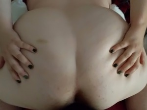 Sexy Hairy BBW gets fucked by her BBC bf- first public video