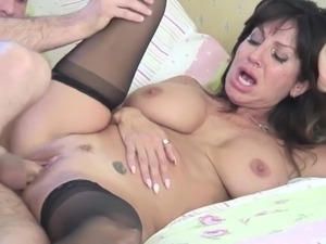 horny wife fucks young boy