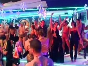 exhibitionist sex party video