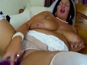 bride in lingerie fuck video