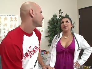doctor treat wife fuck assistant