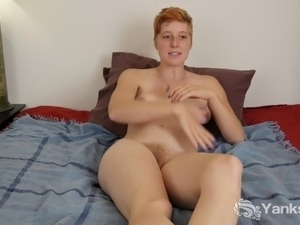 Hairy redhead pussies