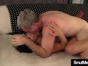 black dude cum in girl mouth