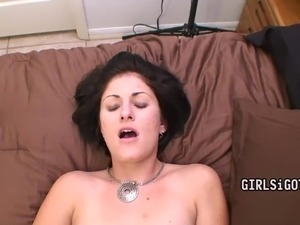 dark black and blonde creampie