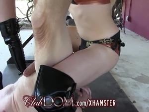 mature femdom handjob