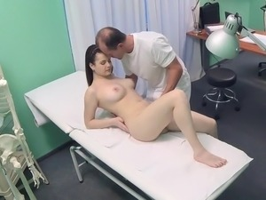 mature aunt doctor massage video
