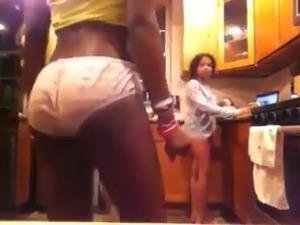 wife strip bra video
