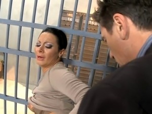 Sexy girl in jail