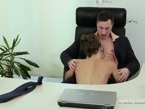 glamour secretary video sex force
