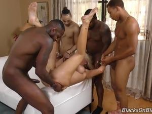 tranny gang bang video