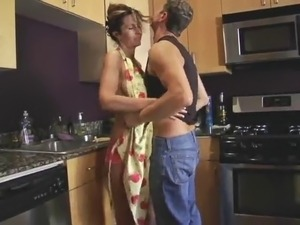 sexy wife in kitchen thumbs