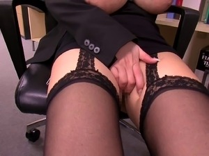 Sexy lesbian secretaries