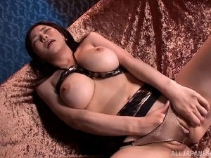 Leather girl sex