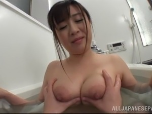 college girl taking bath naked