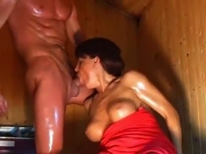 big black dick gag