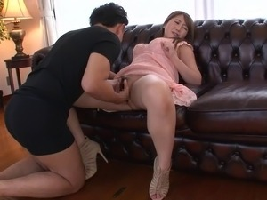 pussy rubbed with vibrator
