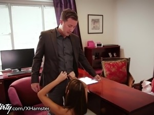 doctor examines busty girls breasts