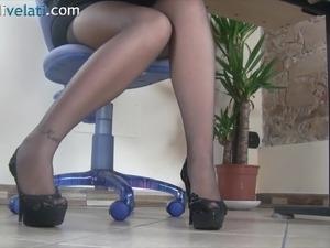 amateur pantyhose video