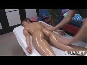 Sexy girls massage
