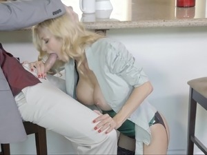 young cute fuck kitchen