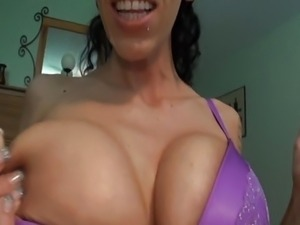 Bbw big tits busty striptease