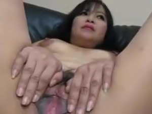 Mature Asian gets pussy attention