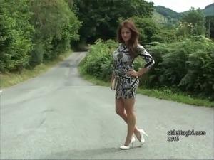 xxx teens platform heels mini skirts