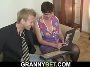 mature granny pics over