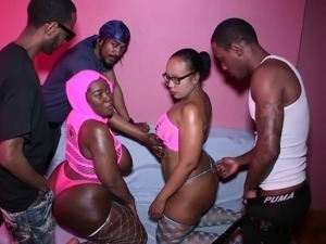 wifes interracial gangbang