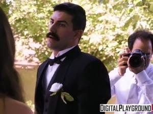 white brides interracial sex