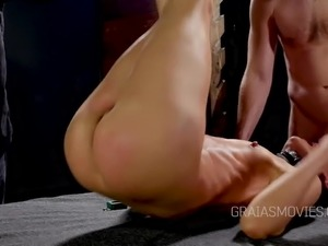 caning sex video