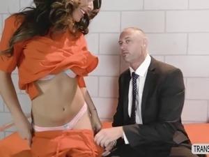 lesbian anal jail