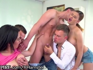 shemale orgy vids
